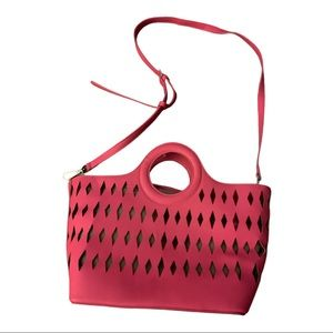Free People Cut out two in one bag NWOT
